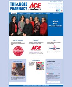 Triangle Pharmacy ACE Hardware Website