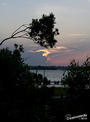 Sunset at Cedar Street Park Emerald Isle, NC