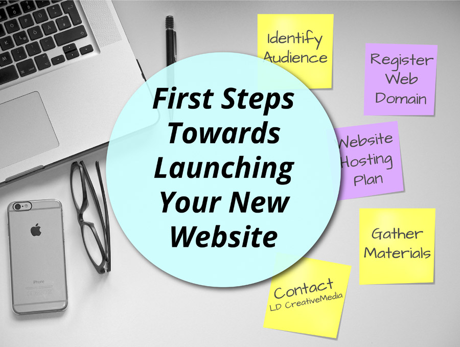 First Steps towards launching Your New Website