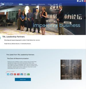 Website Redesign for TBL Leadership Partners - tblleaders